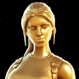 Fortnite Icône Lara Or Midas