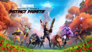 Fortnite Key Art Saison 6 Logo