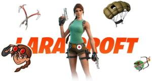 Fortnite Passe de Combat Lara Anniversary