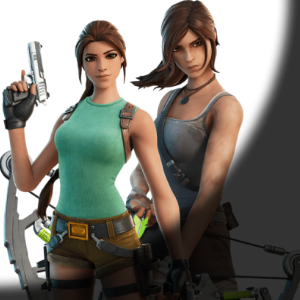 CROSSOVER | Lara Croft rejoint Fortnite !
